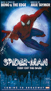 Spiderman_broadway poster