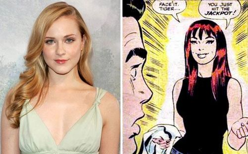 Evan rachel wood as mary jane
