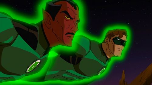 Green lantern cartoon 1