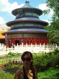 Danielle in China, Epcot