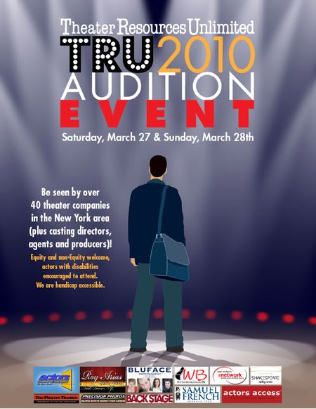 NYC: TRU COMBINED AUDITION EVENT - Blog Stage - Acting in