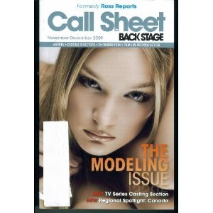 Call-Sheet-Modeling-Issue-Cover-2009