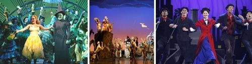 Wicked-lion king-mary poppins