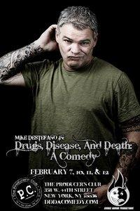 Mike destefano_drugs disease death poster