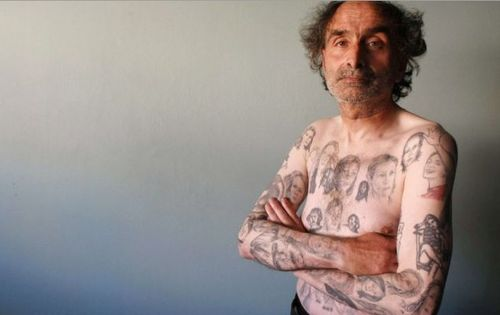 Man with 80 Julia Roberts tattoos