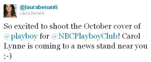 Laura benanti_playboy tweet