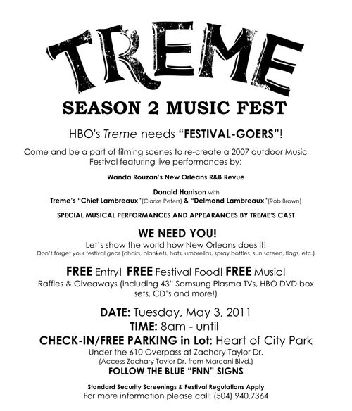 Treme_season 2 music fest extras ad