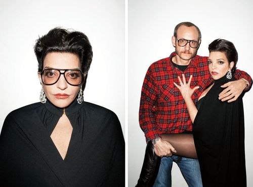 Liza minnelli with terry richardson
